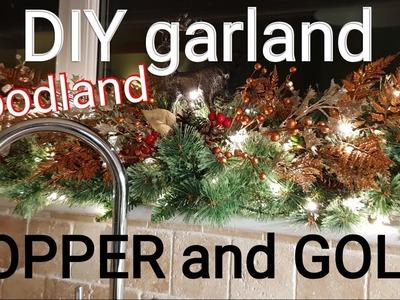DIY Christmas Garland SUPER EASY !