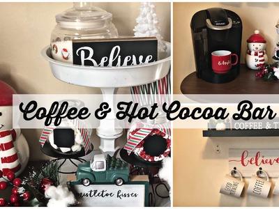 DIY CHRISTMAS HOT COCOA BAR 2018::COFFEE BAR