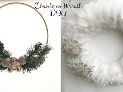 DIY Christmas Wreath 2018