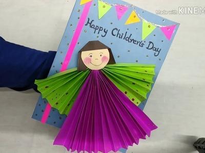 DIY Cute Children's Day Card by Hansam's World
