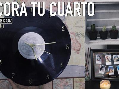DIY DECORA TU CUARTO ROOM DECOR.ANDIY ROSAS