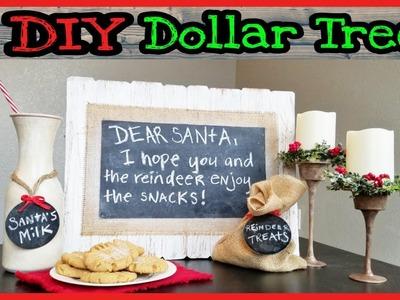 DIY Dollar Tree Christmas Decor. Farmhouse Rustic Christmas Decor