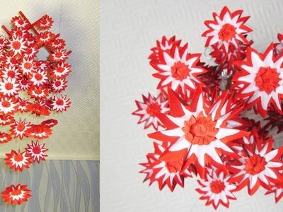 DIY Home Decor - Hanging Flowers