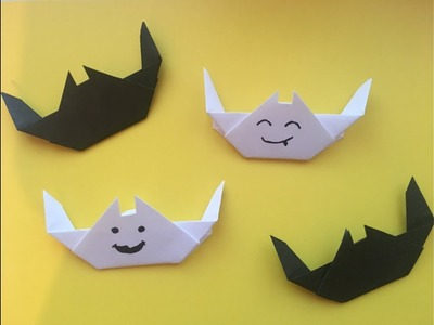 DIY: How to create an origami bat on Halloween