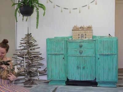DIY: How to make a Driftwood Christmas tree (Zero waste Christmas ideas)