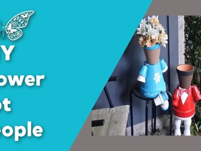 DIY: How to make Flower Pot People
