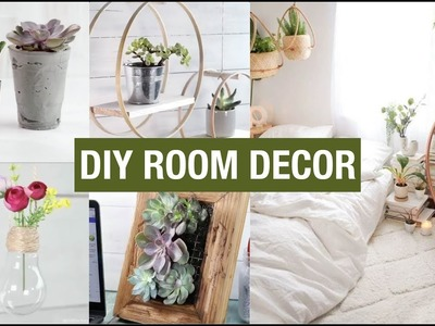 DIY ROOM DECOR 2018 | Easy Crafts at Home