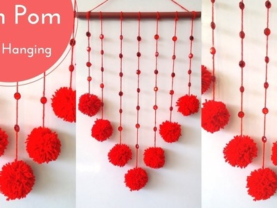 DIY Wall Hanging using Woolen || Room decoration idea || Wall Decoration ideas using Woolen