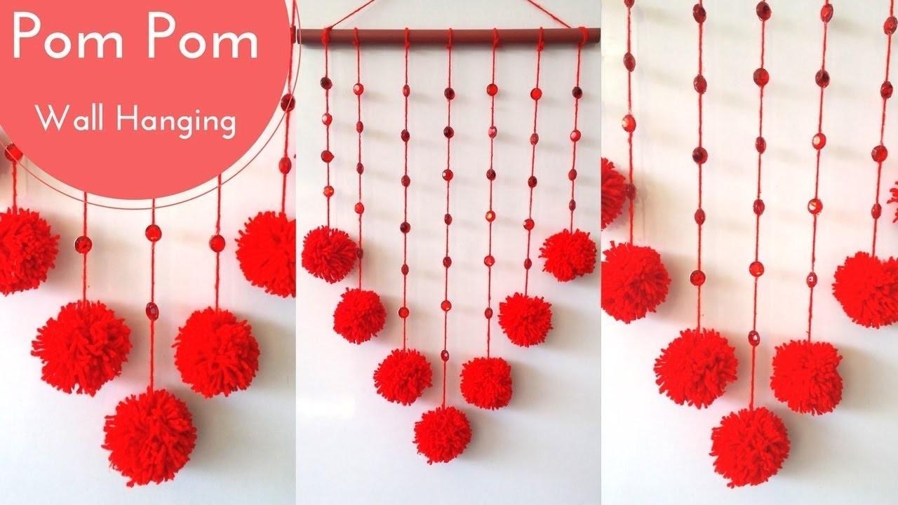 DIY Wall Hanging using Woolen || Room decoration idea || Wall Decoration ideas using Woolen
