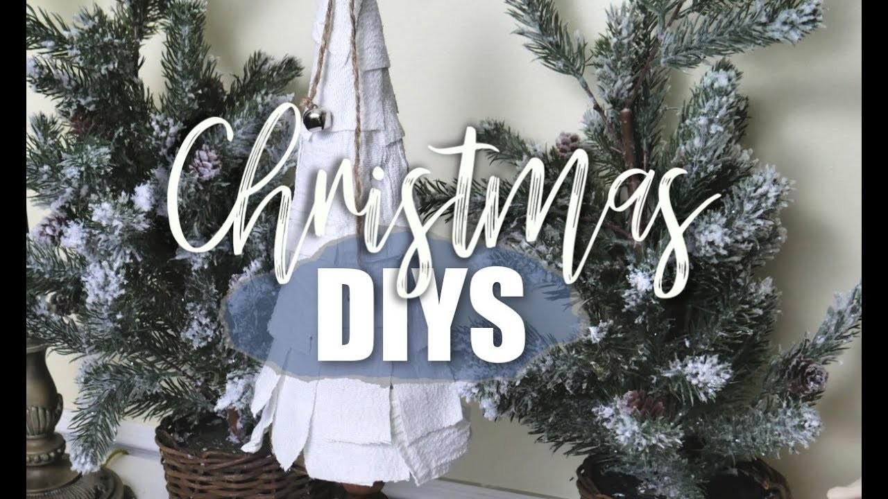 DOLLAR TREE & THRIFT STORE CHRISTMAS DIY   CHRISTMAS DECOR ????