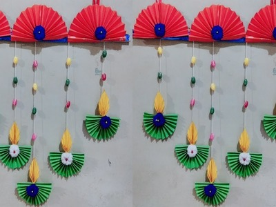 Easy Diwali decoration ideas l Diwali home decoration l Diwali decoration diy.Paper Diya Craft