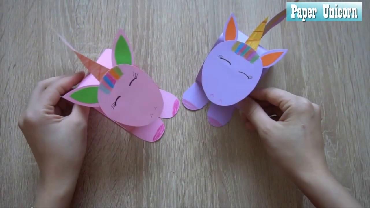 Easy Paper Unicorn Crafts Paper Craft Art