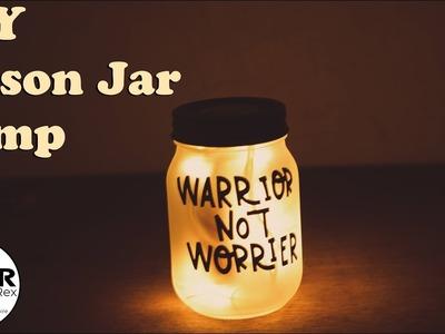 How to make a Mason Jar Lamp || DIY Mason Jar Lamp || Diwali Decoration 2018