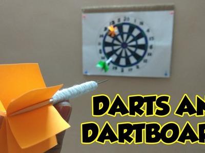 How to Make Darts | Cardboard DIY 2018
