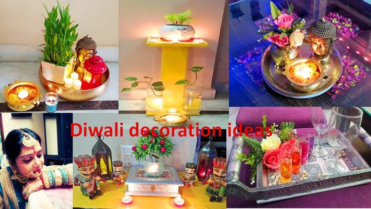 Last minute diwali decoration idea | 5 diwali decoration DIY | easy home decoration ideas |