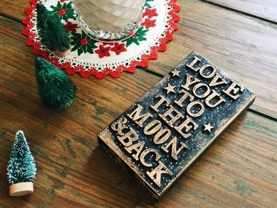 Last Minute DIY Christmas Gifts | DAY 2.12 | Altered Match Box