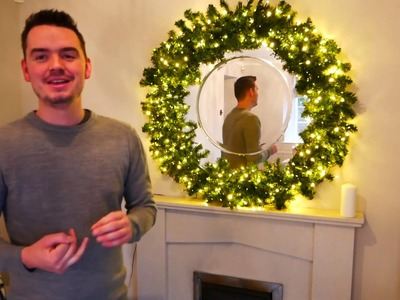 Liams.Home DIY Christmas wreath and garland making