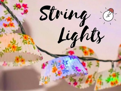 Quick New year Decor Ideas with String Lights | DIY Room Decor Ideas for New year #roomdecorideas