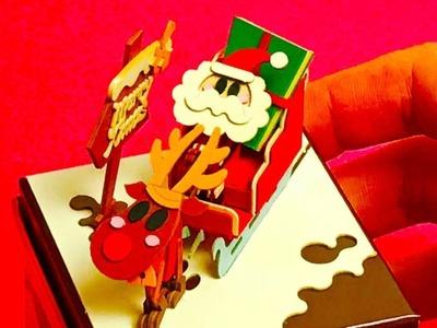 Sankei Paper model Kit Santa Claus