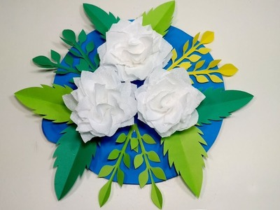 Simple How To Make Simple Easy Paper Flowers At Home Paper