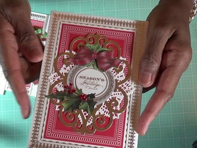 Anna Griffin Christmas Card Kit. I call my semi-homemade cards