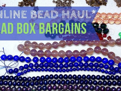 Bead Box Bargains Online Beaded Jewelry Making Haul | October 2018