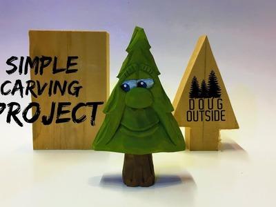 Carve Larry's Happy Christmas Tree