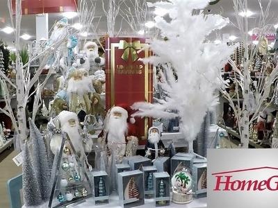 CHRISTMAS DECOR AT HOME GOODS - CHRISTMAS 2018 SHOPPING DECORATIONS ORNAMENTS HOME DECOR