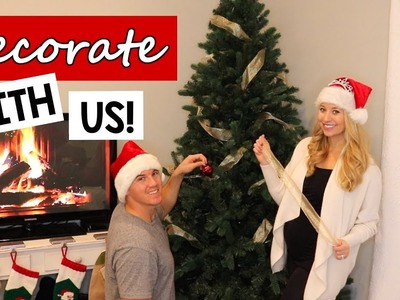 CHRISTMAS DECORATE WITH US   CHRISTMAS TREE EDITION + BABY NAME HINT