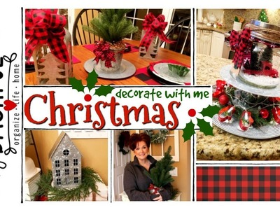 Christmas Decorating. Decorate With Me