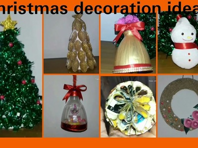 Christmas decoration ideas homemade.christmas decor ideas with waste materials at home.unique ideas
