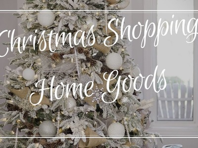Christmas Decoration Shopping ~ at Home Goods ~ by The Frugalnista