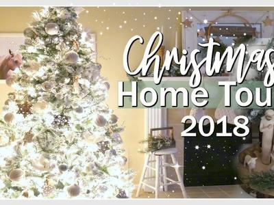 CHRISTMAS HOME TOUR 2018 | FARMHOUSE CHRISTMAS DECOR