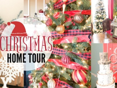 CHRISTMAS HOUSE TOUR | RUSTIC CHRISTMAS DECOR | CHRISTMAS DECORATING IDEAS