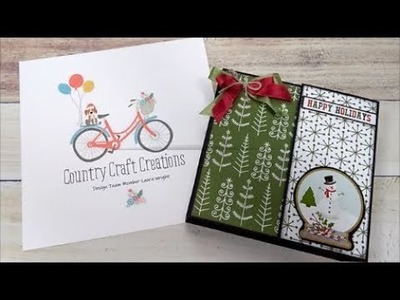 Country Craft Creations Design Team Project #3 Using Scraps Celebrate Christmas