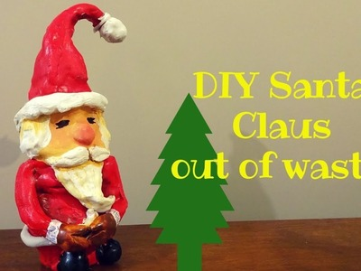 DIY SANTA CLAUS.CHRISTMAS DIY. CHRISTMAS DECORATION IDEAS