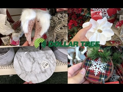 DOLLAR TREE CHRISTMAS SHOP WITH ME 2018
