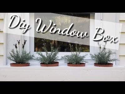 Easy Window Box DIY