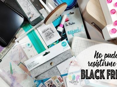 ✰ Haul compras BlackFriday 2018 Manualidades y Scrapbooking ✰ Esther Arnau