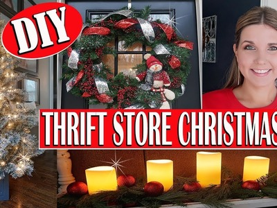 HOW I SHOP THE THRIFT STORE FOR CHRISTMAS ???? THRIFT STORE CHRISTMAS DECOR
