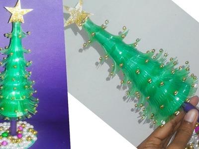How To Make Plastic Bottle Wonderful Christmas Tree