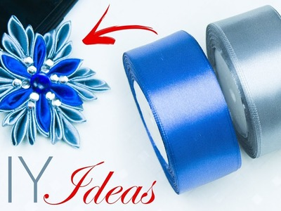 How to make snowflakes in 5 minutes | Christmas Crafts | copos de nieve | Beads art