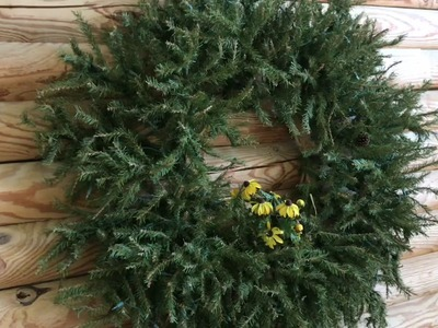 How to UPCYCLE an old christmas tree