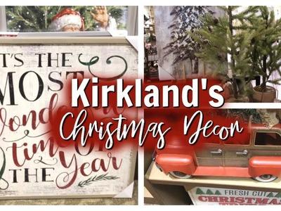 KIRKLAND'S CHRISTMAS DECOR 2018 SHOP WITH ME ????