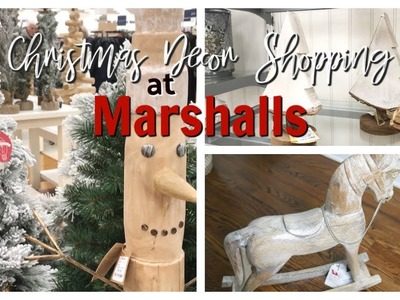 MARSHALLS CHRISTMAS DECOR  2018  | COME SHOP WITH ME & SMALL HAUL ????
