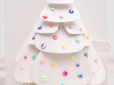 Pull Tab Christmas Tree Featuring Waffle Flower Crafts October Release