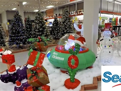 SEARS CHRISTMAS 2018 - CHRISTMAS TREES INFLATABLES ORNAMENTS DECORATIONS HOME DECOR SHOPPING