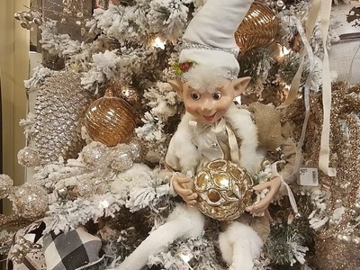Shop With Me For Christmas 2018.At Home, Hobby Lobby, JCPenney & More.  Plus See What I Bought!