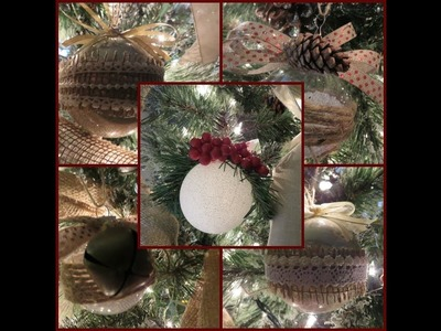 Tricia's Christmas: My Tree Part 3 Creating Onaments