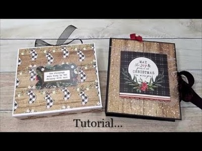 Tutorial for my Quick and Easy Christmas Card Holder